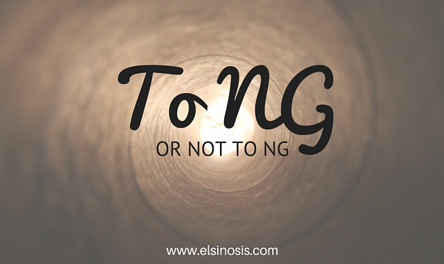 To Nasogastric tube or not