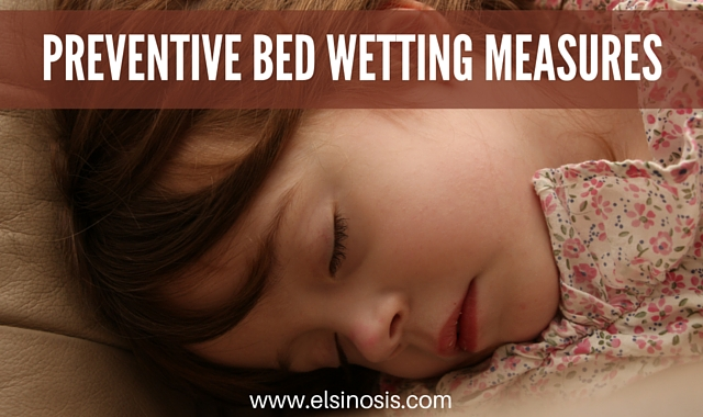 Preventative Bed Wetting Measures
