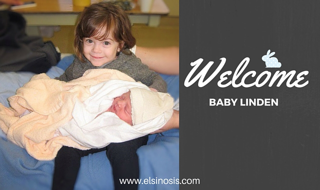 Welcome Baby Linden