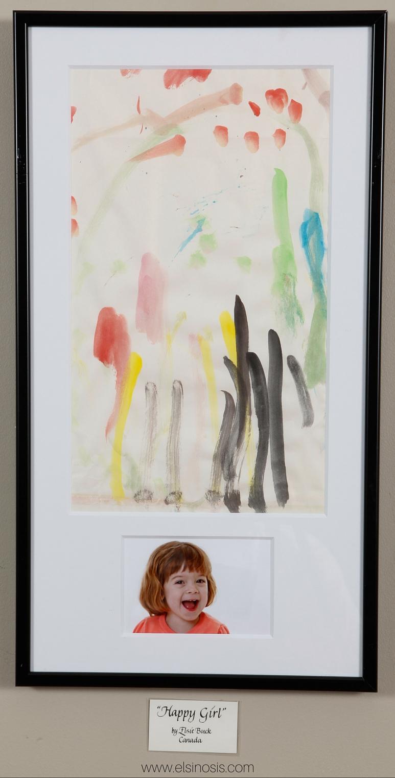CRN Art Exhibit Elsie's Painting