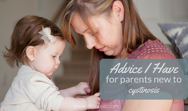Advice for parents new to cystinosis